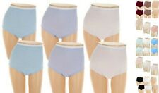 Breezies~Cotton Briefs Panties with UltimAir~A22766~Choice of Sizes and Colors