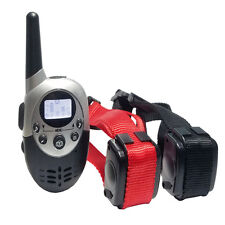 1000M Rechargeable And Waterproof Shock Vibra Remote Control Dog Training collar