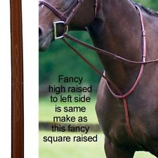 Exselle NEW Horse Elite Fancy Stitched High Raised Standing Martingale