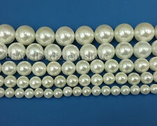 Wholesale Natural Shell Beads Gemstone Smooth Round Bead 6mm 8mm 10mm 12mm 14mm