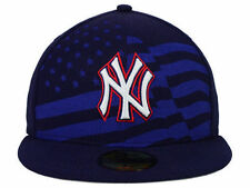 Authentic MLB New York Yankees Star Stripes Cap New Era 59FIFTY Fitted Hat USA