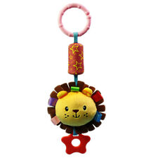Baby Infant Pram Hanging Bell Rattle Teether Musical Bed Crib Stroller Plush Toy