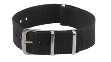 22mm Military Ballistic Nylon Army Watch Strap Premium 3 Rings Replacement Band