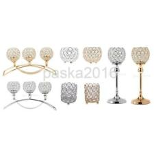 Various Crystal Votive Tealight Candle Holder Wedding Party Centerpiece Decor