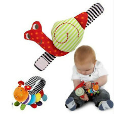 Snails caterpillar Baby Wrist Toys Infant rattle  Baby Rattle Hand Rattles Toys
