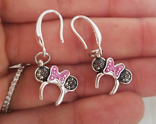 Mickey Minnie Mouse earrings/925 Silver Disney icon Mickey Minnie Mouse Earrings
