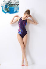 Girls and Womens Marium Competition,Swimming, Racing Practice One-Piece Swimsuit