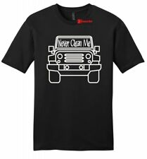 Never Clean Me Funny Mens Soft T Shirt Off Roading Mudding Truck Country Tee Z2