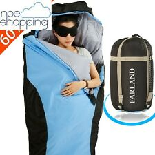 FARLAND Adult Sleeping Bag Outdoor Camping Hiking Ultra-Light Compact New