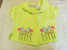 First Impressions Embroidered Shirt 3-6 Months