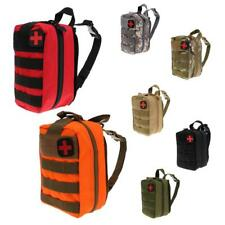Tactical Rip Away Hook and Loop EMT MOLLE Utility Medic Bag First Aid Pouch