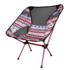 Portable Folding Camping Chair Outdoor Fishing Seat Picnic Stool Leisure Beach