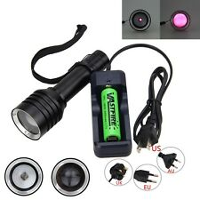 OSRAM 7W 850nm Zoomable Infrared Radiation IR LED Night Vision Flashlight Torch
