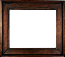"""4.75"""" WIDE Fancy Brown Oil Painting Wood Picture Frame 20MG"""