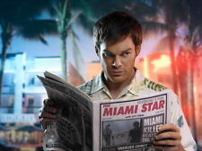 Dexter TV Series Newspaper Print POSTER Plakat