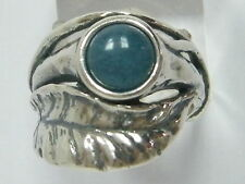 Authentic Women's Ring 925 Sterling Silver Ring nature Kyanite Blue Ring