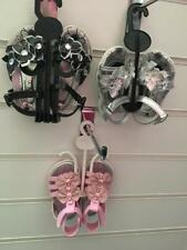 Baby Girls / Toddler Sandals in black pink or silver