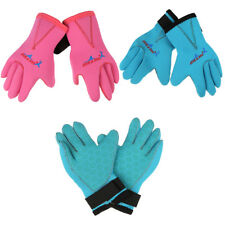 Children Kids Scuba Diving Surfing Snorkel Kayak Gloves 3mm Neoprene Skid-proof