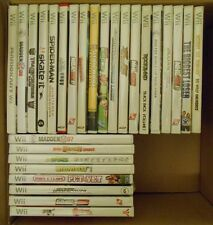 replacement Nintendo Wii game cases (choose from list, cases only)