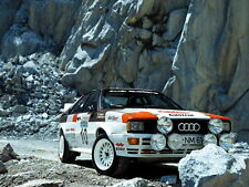 Audi Quattro Group 4 Rally Car 1981 Classic Sport Wall Print POSTER CA