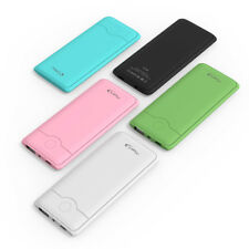 Ultra Thin Portable USB Power Bank Pocket Emergency Backup Battery Pack Charger