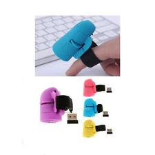 2.4GHz Mini USB Wireless Finger Rings Optical Mouse 1200Dpi for Laptop PC