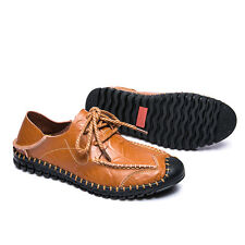 Lightweight Loafers 2 Ways Wear Flats Lace Up Casual Mens Walking Shoes UK Size