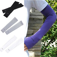 Sport Arm Cooling Sleeves Gloves for UV Sun Protection Cover Driving New