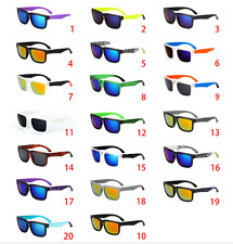 Outdoor Sport Fashion Unisex Retro  Block Cycling Helm Sunglasses Aviator HOT