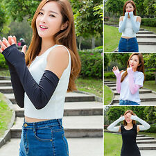 Arm Cooling Sleeves Gloves UV Sun Protection Cover Golf Basketball Cycling Sport