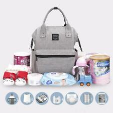 Diaper Changing Bag Multi-function Waterproof Travel Backpack Nappy Bag for Baby