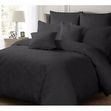 NEW Ashton Charcoal Quilt / Doona Cover Set Quilted Single, Double, Queen, King
