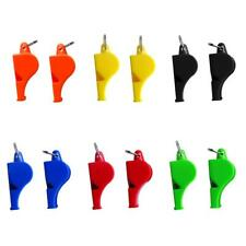 2pcs Camping Emergency Survival Whistle Outdoor Sports Loud Referee Whistle