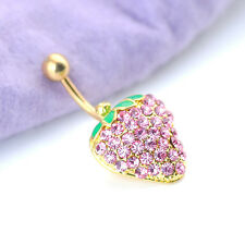 Piercing Belly Button 6 style Dangle 1Pcs Body Jewellery Rhinestones Navel  Ring