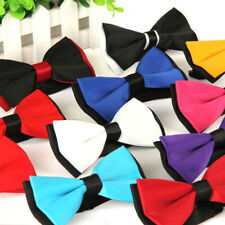 Mens Wedding Formal Bowtie Novelty Tuxedo Necktie Bow Tie Classic Adjustable Hot