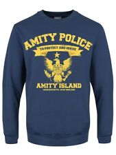Amity Police Dept Men's Airforce Blue Sweater