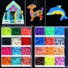 New 5mm 500/1000pcs PP HAMA/PERLER BEADS for Child Gift GREAT Kids Great Fun