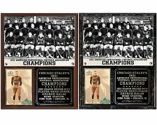 Chicago Staleys 1921 NFL Champions Photo Card Plaque