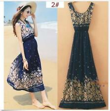Dress Chiffon Dress Long Boho Dress  Sexy Women Summer Beach Evening Party  Maxi