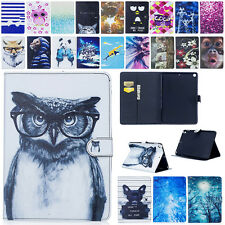 2017 New Kids Cartoon PU Leather Flip Cover Case Stand For Apple iPad Tablet PC
