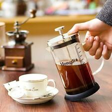 350/600ml Stainless Steel French Press Pot Cafetiere Coffee Cup Tea Maker D9Z5