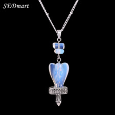 New Necklace Pendant Bird Crystal Charm Healing Crystal Natural Stone Necklaces