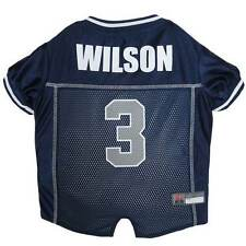 DOG JERSEY Russell Wilson #3 Seattle Seahawks * NFL Football Team Fan Pet Shirt