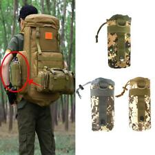 Waterproof Outdoor Tactical Military Molle Water Bottle Bag Kettle Pouch Carrier
