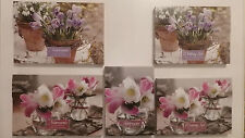 Selection of 20 Notecards, 40 Sheet Writing Set or Telephone & Address Book