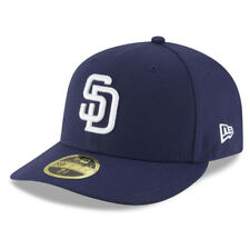 New Era 5950 San Diego Padres 2017 HOME Low Profile Fitted Hat (LTNV) MLB Cap