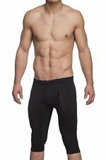 Men's Active Yoga Capri Pant with Front Zipping Pockets by Gary Majdell Sport