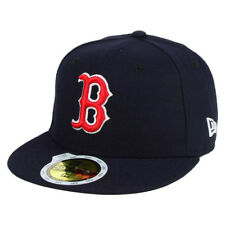 New Era 5950 Youth Boston Red Sox 2017 GAME Fitted Hat (Navy Blue) MLB Kid's Cap