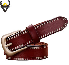 New genuine leather belts cowskin waistband Fashion top quality for women