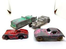 Lot of 2 Midgetoy Cars - Convertible & Roadster - And Two Other Die Cast Cars